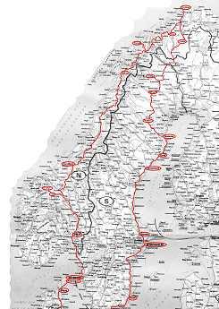 il percorso scandinavo